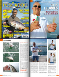 Reportage Silic Leures dans magazine le Pescadou