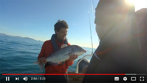 Vincent Garcia, guide de pêche
